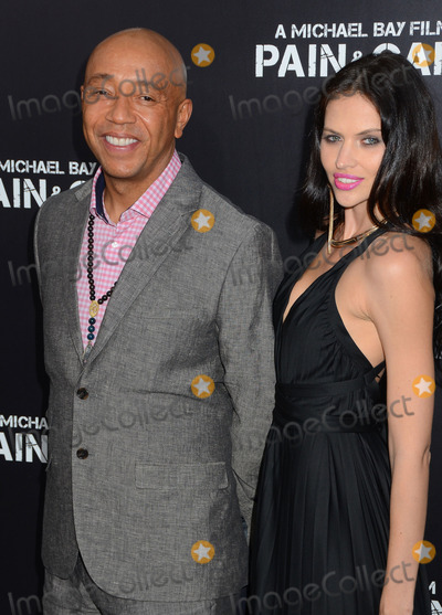 Russell Simmons Photo - 22 April 2013 - Hollywood California - Russell Simmons Hana NitscheLos Angeles Premiere of Paramount Pictures PAIN  GAIN at TCL Chinese Theatre Photo Credit BirdieThompsonAdMedia