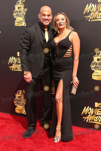 Amber Nicole Photo - 07 May 2017 - Los Angeles California - Tito Ortiz Amber Nicole Miller 2017 MTV Movie And TV Awards held at the Shrine Auditorium Photo Credit AdMedia