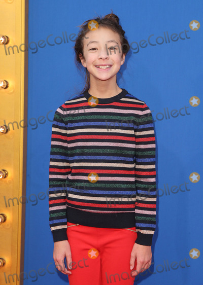 Aubrey Anderson-Emmons Photo - 03 December 2016 - Los Angeles California - Aubrey Anderson-Emmons Universal Pictures Sing Los Angeles Premiere held at Microsoft Theater Photo Credit F SadouAdMedia