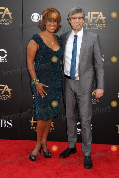 King Mo Photo - 14 November 2014 - Hollywood California - Gayle King Mo Rocca 18th Annual Hollywood Film Awards - Arrivals held at the Hollywood Palladium Photo Credit Byron PurvisAdMedia