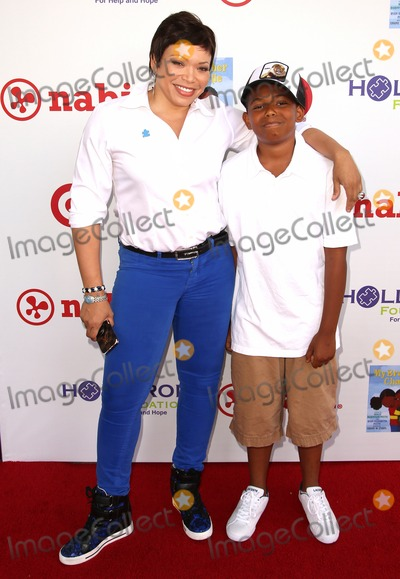 Tisha Campbell Photo - 3 August 2013 - Culver City California - Tisha Campbell Martin  Xen Martin HollyRod Foundations 4th Annual My Brother Charlie Carnival Held At Culver Studios Photo Credit Kevan BrooksAdMedia
