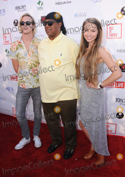 Ross Lynch Photo - 28 August 2016 - Los Angeles California Ross Lynch Stevie Wonder Ayla Kell The 4th Annual Kailand Obashi Hoop-Life Fundraiser held at Galen Center at USC Photo Credit Birdie ThompsonAdMedia
