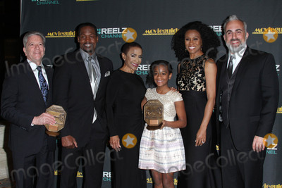 Alena Pitts Photo - 05 February 2016 - Los Angeles California - TC Stallings Karen Abercrombie Alena Pitts Priscilla Shirer and Stephen Kendrick 24th Annual MovieGuide Awards 2016 - Press Room held at the Universal Hilton Hotel Photo Credit AdMedia