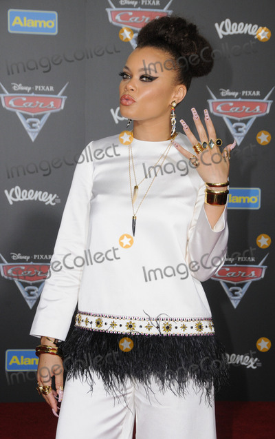 Andra Day Photo - 10 June 2017 - Anaheim California - Andra Day Premiere of Disney Pixars Cars 3 held at the Anaheim Convention Center in Anaheim Photo Credit Birdie ThompsonAdMedia