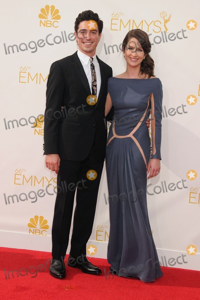 Michelle Mulitz Photo - 25 August 2014 - Los Angeles California - Ben Feldman Michelle Mulitz 66th Annual Primetime Emmy Awards - Arrivals held at Nokia Theatre LA Live Photo Credit Byron PurvisAdMedia