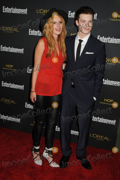 Bella Thorne Photo - 23 August 2014 - West Hollywood California - Bella Thorne Cameron Monaghan Entertainment Weekly 2014 Pre-Emmy Party held at Fig  Olive Photo Credit Byron PurvisAdMedia