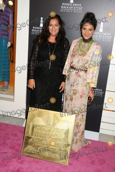 Angela Missoni Photo - 23 October 2011 - Los Angeles California - Angela Missoni and Margherita Missoni Rodeo Drive Walk of Style Award 2011 held at Missoni Photo Credit Byron PurvisAdMedia