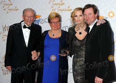 Alfred Mann Photo - 13 October 2013 - Beverly Hills California - Alfred Mann Claude Mann Janet Gretzky Wayne Gretzky 10th Annual Alfred Mann Foundation Gala held at 9100 Wilshire Blvd Photo Credit Byron PurvisAdMedia