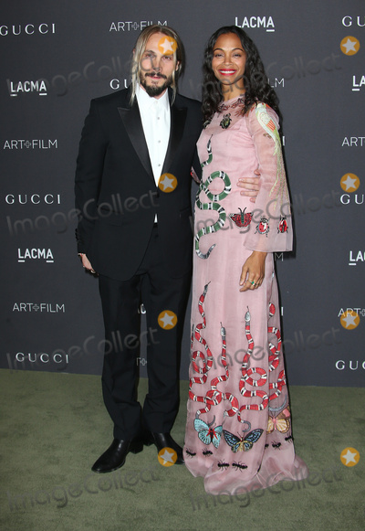 Zoe Saldana Photo - 29 October 2016 - Los Angeles California - Zoe Saldana Marco Perego 2016 LACMA Art  Film Gala honoring Robert Irwin and Kathryn Bigelow presented by Gucci held at LACMA Photo Credit AdMedia