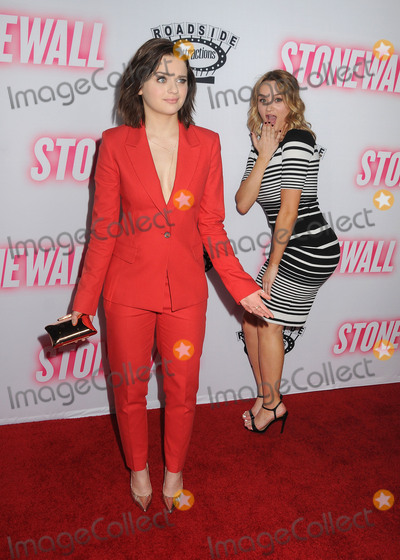 Hunter King Photo - 23 September 2015 - West Hollywood California - Joey King Hunter King Stonewall Los Angeles Premiere held at the Pacific Design Center Photo Credit Byron PurvisAdMedia