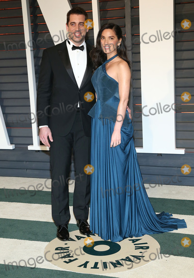 Aaron Rodgers Photo - 22 February 2015 - Beverly Hills California - Aaron Rodgers Olivia Munn 2015 Vanity Fair Oscar Party Hosted By Graydon Carter following the 87th Academy Awards held at the Wallis Annenberg Center for the Performing Arts Photo Credit AdMedia