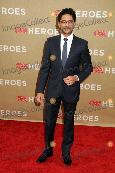 Adhir Kalyan Photo - 11 December 2011 - Los Angeles California - Adhir Kalyan CNN Heroes An All-Star Tribute 2011 held at The Shrine Auditorium Photo Credit Byron PurvisAdMedia