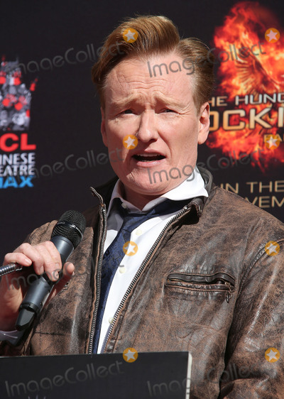 Conan OBrien Photo - 31 October 2015 - Hollywood California - Conan OBrien The Hunger Games Mockingjay - Part 2 Hand And Footprint Ceremony held at TCL Chinese Theatre Photo Credit F SadouAdMedia