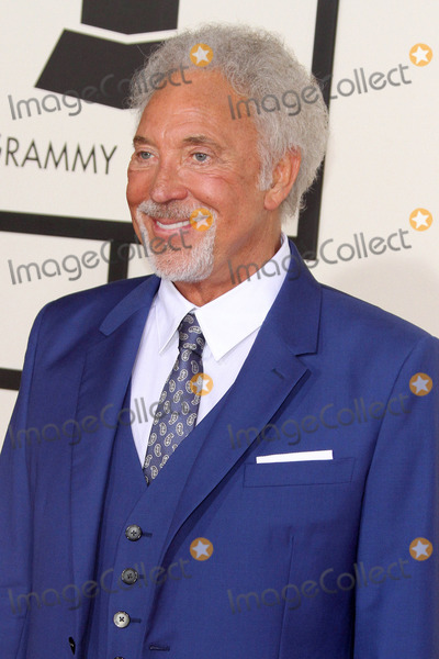 Tom Jones Photo - 08 February 2015 - Los Angeles California - Tom Jones 57th Annual GRAMMY Awards held at the Staples Center Photo Credit AdMedia