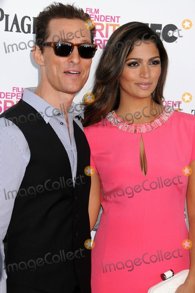 Camila Alves Photo - 23 February 2013 - Santa Monica California - Matthew McConaughey Camila Alves 2013 Film Independent Spirit Awards - Arrivals held at Santa Monica Beach Photo Credit Byron PurvisAdMedia