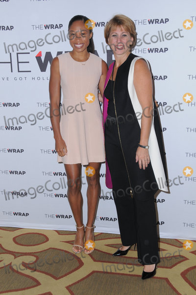Allyson Felix Photo - 21 October 2016 - Beverly Hills California Allyson Felix Susan Waxman The Wraps 2016 Power Women Breakfast held at The Montage Beverly Hills Photo Credit Birdie ThompsonAdMedia