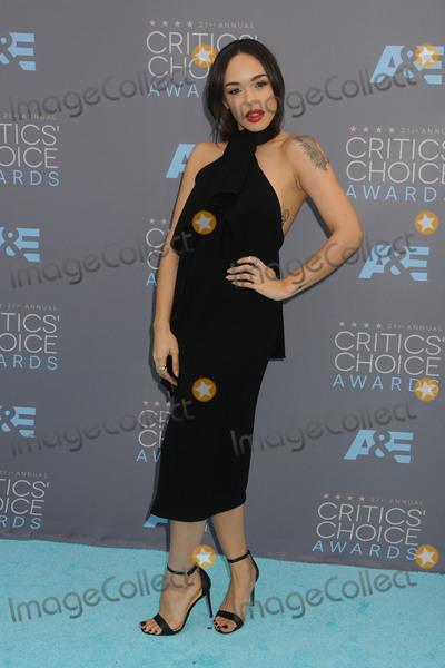 Cleopatra Coleman Photo - 17 January 2016 - Santa Monica California - Cleopatra Coleman 21st Annual Critics Choice Awards - Arrivals held at Barker Hangar Photo Credit Byron PurvisAdMedia