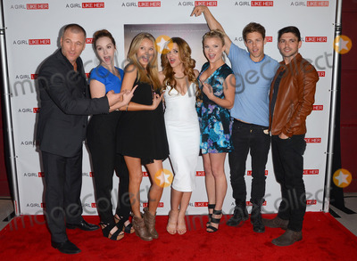 Melissa Ordway Photo - 27 March 2015 - Hollywood California - Sean Carrigan Camryn Grimes Melissa Ordway Hunter King Kelli Goss Lachlan Buchanan Robert Adamson Arrivals for the Los Angeles premiere of A Girl Like Her held at ArcLight Hollywood Photo Credit Birdie ThompsonAdMedia