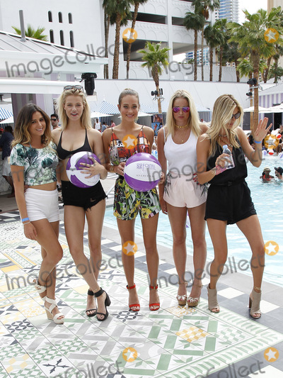 Anastasia Ashley Photo - 01May 2015 - Las Vegas NV -   Anastasia Ashley Hailey Clauson Hannah Davis Genevieve Morton Kelly Rohrbach  PreFight Pool Party with Sports Illustrated Swimsuit Models at SLS Las VegasPhoto Credit mjtAdMedia