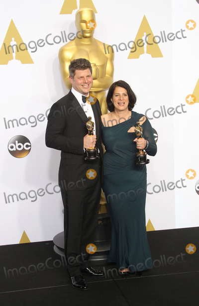 Anna Pinnock Photo - 22 February 2015 - Hollywood California - Adam Stockhausen Anna Pinnock 87th Annual Academy Awards presented by the Academy of Motion Picture Arts and Sciences held at the Dolby Theatre Photo Credit F SadouAdMedia