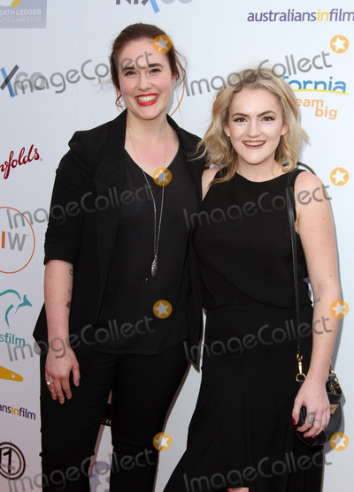 Ashleigh Bell Photo - 01 June 2016 - Beverly Hills California - Ashleigh Bell and Olivia Ledger 2016 Australians in Film Heath Ledger Scholarship Announcement Dinner held at Mr C Beverly Hills Photo Credit AdMedia