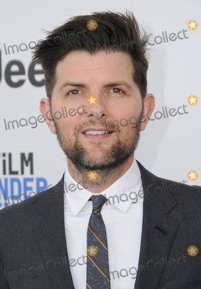 Adam Scott Photo - 25 February 2017 - Santa Monica California - Adam Scott 2017 Film Independent Spirit Awards held held at the Santa Monica Pier Photo Credit Birdie ThompsonAdMedia