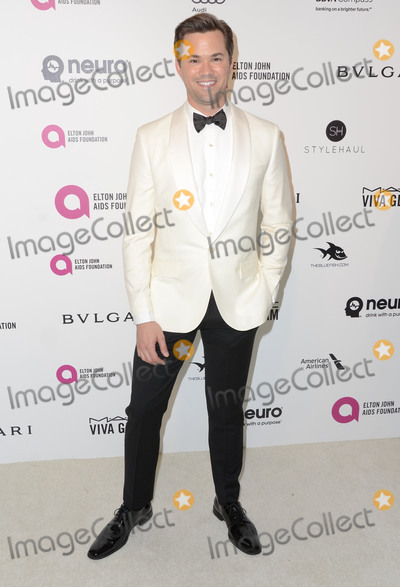 Andrew Rannells Photo - 28 February 2016 - West Hollywood California - Andrew Rannells 24th Annual Elton John Academy Awards Viewing Party sponsored by Bvlgari MAC Cosmetics Neuro Drinks and Diana Jenkins held at West Hollywood Park Photo Credit Birdie ThompsonAdMedia