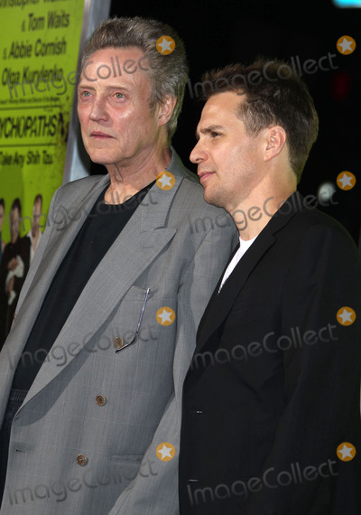 Christopher Walken Photo - 1 October 2012 - Westwood California - Christopher Walken Sam Rockwell Seven Psychopaths - Los Angeles Premiere Held At The Mann Bruin Theatre Photo Credit Russ ElliotAdMedia