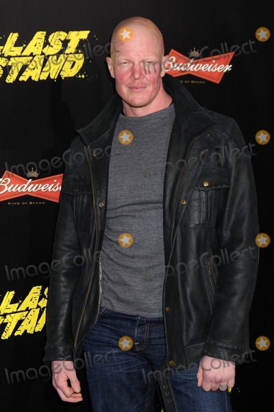 Derek Mears Photo - 14 January 2013 - Hollywood California - Derek Mears The Last Stand World Premiere held at Graumans Chinese Theatre Photo Credit Byron PurvisAdMedia