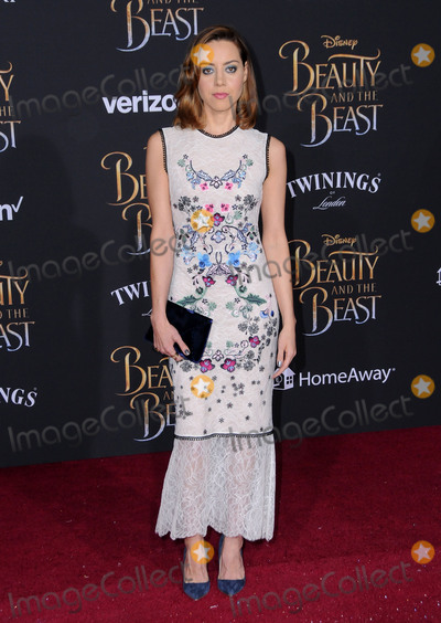 Aubrey Plaza Photo - 02 March 2017 - Hollywood California - Aubrey Plaza Los Angeles premiere of Disneys Beauty and the Beast held at El Capitan Theatre Photo Credit Birdie ThompsonAdMedia