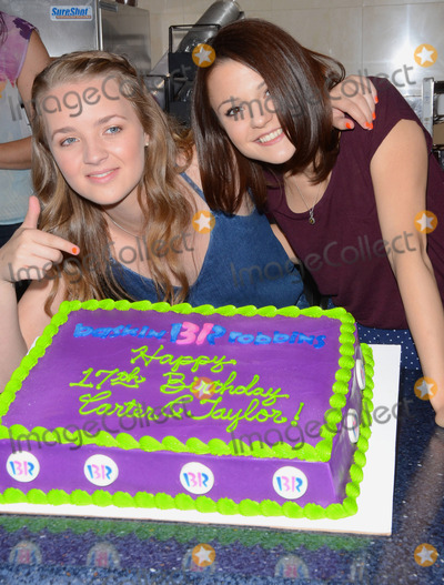 Anna Jacoby-Heron Photo - 12 August 2014 - Burbank California - Anna Jacoby- Heron Kathryn Prescott Cast of MTVs Finding Carter celebrate the twins 17th birthday at Baskin-Robbins in Burbank Ca Photo Credit Birdie ThompsonAdMedia