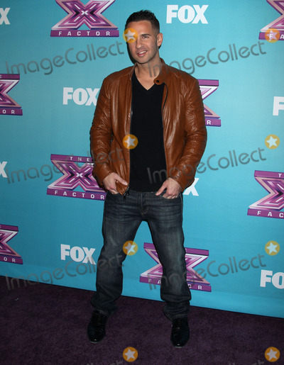 Mike The Situation Sorrentino Photo - 19 December 2012 - Los Angeles California - The X Factor Season Finale - Night 1 held at CBS Studios Photo Credit Russ ElliotAdMedia