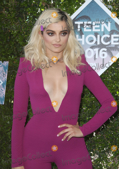 Bebe Rexha Photo - 31 July 2016 - Inglewood California - Bebe Rexha Teen Choice Awards 2016 held at The Forum Photo Credit AdMedia