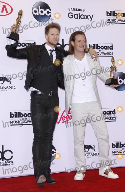 Tyler Hubbard Photo - 17 May 2015 - Las Vegas Nevada - Florida Georgia Line Brian Kelley Tyler Hubbard 2015 Billboard Music Awards Press Room Photo Credit MJTAdMedia