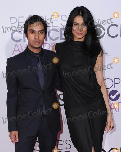 Kunal Nayyar Photo - 18 January 2017 - Los Angeles California - Kunal Nayyar Neha Kapur  2017 Peoples Choice Awards held at the Microsoft Theater Photo Credit Birdie ThompsonAdMedia