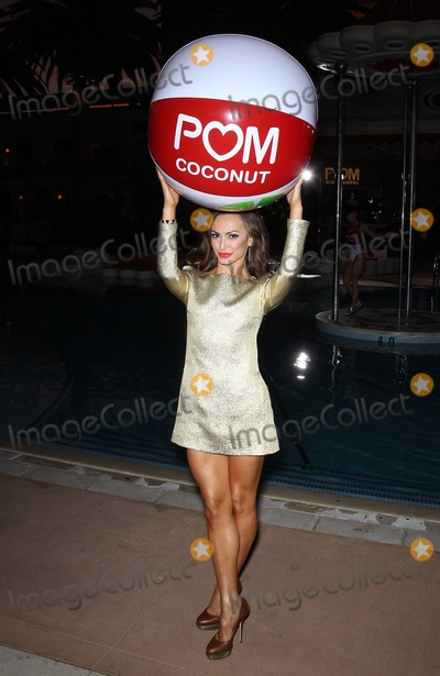Karina Smirnoff Photo - 29 August 2013 - Las Vegas NV -  Karina Smirnoff Cheryl Burke and Karina Smirnoff celebrate the launch of POM Wonderfuls Juice Blends at Encore Beach Club at The Wynn Las Vegas Cheryl and Karina also led a successful attempt to set a new Guinness Book of Worlds Records for the Longest Beach ball BouncePhoto Credit mjtAdMedia