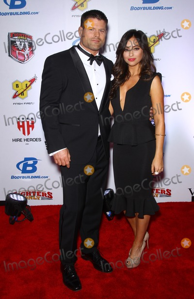 Nicole Dabeau Photo - 07 February 2014 - Las Vegas NV -  Nicole Dabeau Brian Stann 6th Annual Fighters Only World Mixed Martial Arts Awards at the palazzo Las Vegas Photo Credit mjtAdMedia