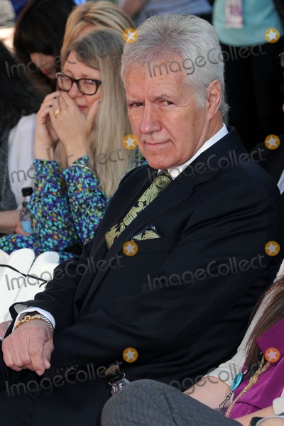 Alex Trebek Photo - 27 March 2015 - Hollywood California - Alex Trebek Christopher Plummer Hand  Footprint Ceremony held at the TCL Chinese Theatre Photo Credit Byron PurvisAdMedia
