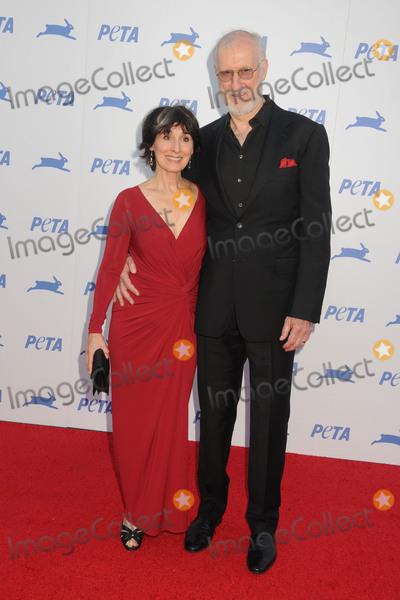Anna Stuart Photo - 30 September 2015 - Hollywood California - Anna Stuart James Cromwell PETA 35th Anniversary Gala held at the Hollywood Palladium Photo Credit Byron PurvisAdMedia