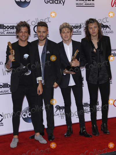 Liam Payne Photo - 17 May 2015 - Las Vegas Nevada - One Direction  Louis Tomlinson Liam Payne Niall Horan Harry Styles 2015 Billboard Music Awards Press Room Photo Credit MJTAdMedia