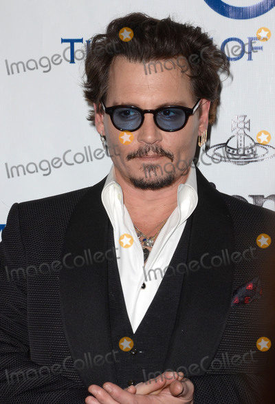 Andreas Kronthaler Photo - 09 January  - Los Angeles Ca - Johnny Depp Arrivals for The Art of Elysiums Presents Vivienne Westwood  Andreas Kronthalers 2016 HEAVEN Gala held at 3Labs Photo Credit Birdie ThompsonAdMedia
