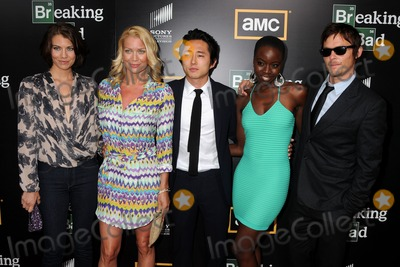 Norman Reedus Photo - 14 July 2012 - San Diego California - Lauren Cohan Laurie Holden Steven Yeun Danai Gurira Norman Reedus AMCs Breaking Bad Season 5 Premiere at Comic-Con 2012 held at Reading Cinemas Photo Credit Byron PurvisAdMedia
