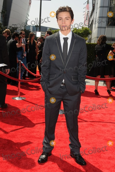 Jake T Austin Photo - 10 September 2011 - Los Angeles California - Jake T Austin 2011 Primetime Creative Arts Emmy Awards held at Nokia Theatre LA Live Photo Credit Byron PurvisAdMedia
