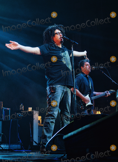 Adam Duritz Photo - 12 May 2015 - Hamilton Ontario Canada  Vocalist Adam Duritz of Counting Crows performs on stage at Hamilton Place Theatre Photo Credit Brent PerniacAdMedia