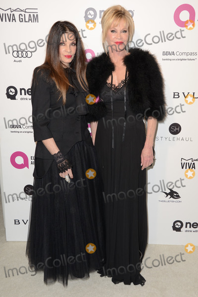 Melanie Griffith Photo - 28 February 2016 - West Hollywood California - Melanie Griffith 24th Annual Elton John Academy Awards Viewing Party sponsored by Bvlgari MAC Cosmetics Neuro Drinks and Diana Jenkins held at West Hollywood Park Photo Credit Birdie ThompsonAdMedia