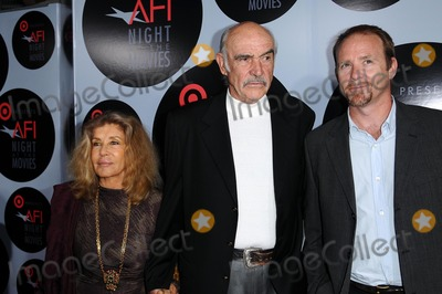 Jason Connery Photo - Micheline Roquebrune with Sean Connery and Jason Connery at AFI Night at the Movies presented by Target Arclight Theater Hollywood CA 10-01-08
