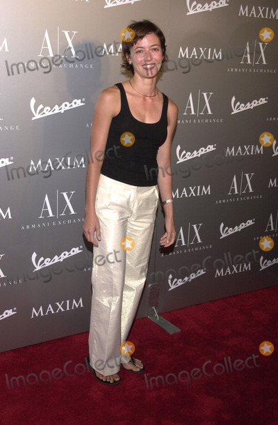 Mia Sara Photo -  MIA SARA at the Armani Santa Monicas 10th Anniversary Party Santa Monica Promenade  08-23-01