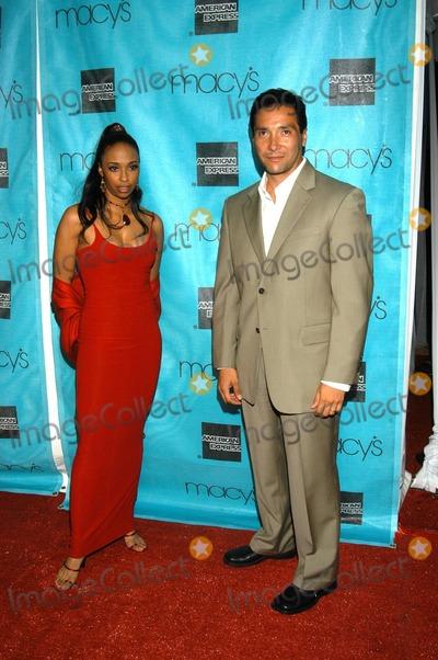 Jasmin Lewis Photo - Jasmine Lewis and Benito Martinez At Macys and American Express Passport Gala Barker Hanger Santa Monica Calif 10-02-03