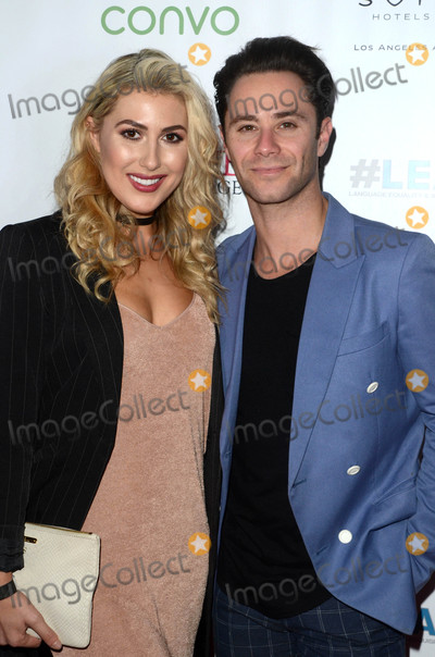 Emma Slater Photo - Emma Slater Sasha Farberat the Nyle DiMarco Foundation Love  Language Kickoff Campaign 2016 Sofitel Hotel Beverly Hills CA 11-29-16