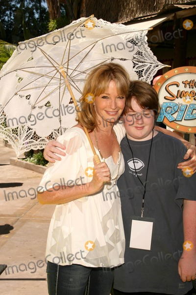Deidre Hall Photo - Deidre Hall and son at the Grand Opening of The Simpsons Ride Universal Studios Hollywood Universal City CA 05-17-08